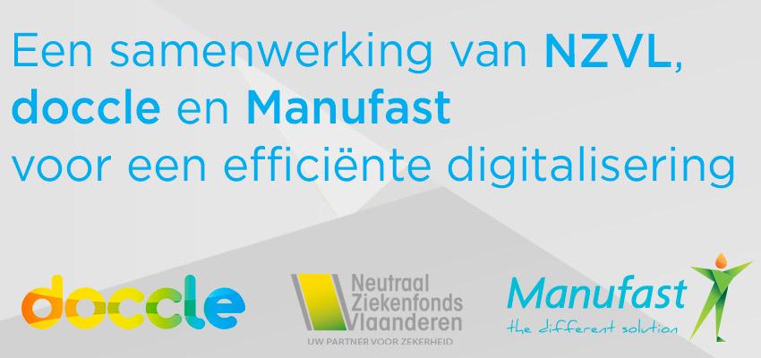 Een samenwerking van NZVL, doccle en Manufast voor een efficiënte digitalisering